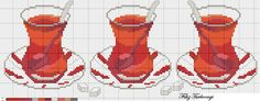 Bright crosses from filiz. Discussion on LiveInter . Cross Stitch Charts, Cross Stitch Designs, Cross Stitch Patterns, Cross Stitch Fruit, Cross Stitch Kitchen, Cross Stitching, Cross Stitch Embroidery, Stitches Wow, Craft Museum