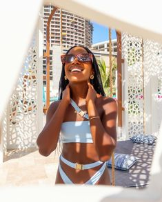 """Hali Oduor on Instagram: """"From beach clubs and sand dunes to... Next trip is loading, can you guess where I'm off to next? 💙 #visitdubai #traveldubai…"""" Dubai Places To Visit, Visit Dubai, Dubai Travel, Beach Club, Dune, Bikinis, Swimwear, Instagram, Bathing Suits"""