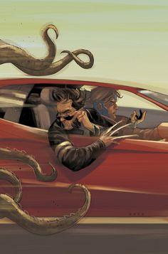 Astonishing X-Men #67 cover  I adore Phil Noto's Wolverine
