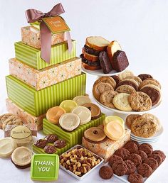 Cheryls thank you classic gift tower sugar free thank you gift thank you vip gift tower kosher food cheryls this impressive gift negle Image collections