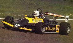 Alessandro Nannini - Minardi Fly 281B BMW/Mader - Minardi Team Srl - VI Gran Premio dell'Adriatico 1982 - European F2 Championship, Round 13