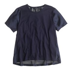 J.Crew Silky knit tee, $55 (purchased 4/11/15)