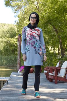 9bd6677b1c Mayovera Big Flowers Design Swim Wear Muslim Woman Swimsuit Browse & Buy