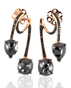 Black #Diamonds & Rose #Gold #EthoMaria #EthoMariaMelanon
