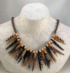 Spiked Necklace - needle & wet felting
