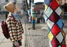 yarn bomb - London
