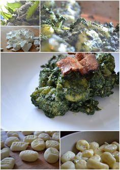 ZELENÝ ČTVRTEK: Gnocchi s kopřivovým špenátem a kozím sýrem :*