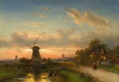 Charles Leickert | Romantic Dutch Landscape painter | Tutt'Art@ | Pittura * Scultura * Poesia * Musica |
