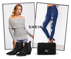 """Sheinside IX/2"" by dzemila-c ❤ liked on Polyvore featuring Sheinside"