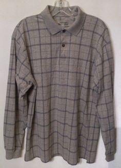 1c15ddff Men's polo shirt by Basic Equipment Long Sleeve Shirt.cotton blend size M