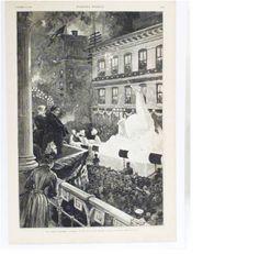 Veiled Prophet float - 1887 St. Louis