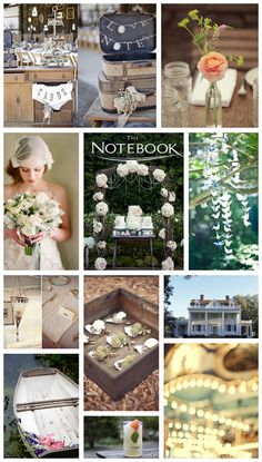 The Notebook Wedding Inspiration By Sonia Collett