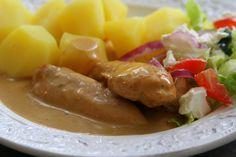 Kyckling i krämig balsamicosås | Jennys Matblogg
