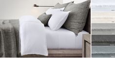 RH's Bed Linen Collections