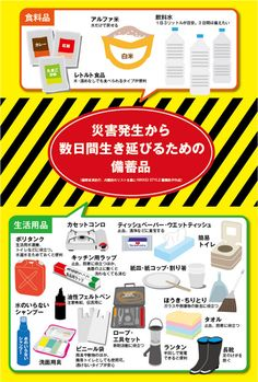 東日本大震災から6年、熊本地震からもうすぐ1年。2015年、16年と関東や東北、北海道で大きな水害もあった。しかし仕事と家事に追われていると危機感は日々にうとし。備えたつもりの我が家の防災対策も穴だらけになっていた。NIKKEI STYLEのこれまでの記… Wilderness Survival, Survival Prepping, Emergency Preparedness, Survival Skills, The New School, New School Year, Mint Tins, Sale Promotion, Natural Disasters