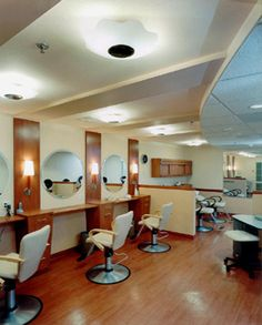 Beauty Salon design design at Seacrest Village Assisted Living