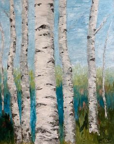 Can't Hold Back 24 x 30 Oil on Canvas Aspen Trees, Birch Trees, Watercolor Trees, Watercolor Landscape, Retreat House, Golden Leaves, Mini Paintings, Tree Oil, Rocky Mountains