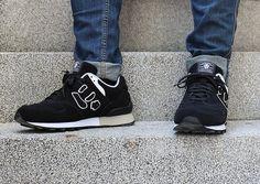 にゅ~ず 【BLACK】   Sangacio New Balance, Sneakers, Shoes, Fashion, Tennis, Moda, Slippers, Zapatos, Shoes Outlet