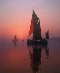 Sailing barges - null