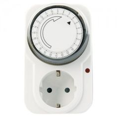 Mechanical timer without cover