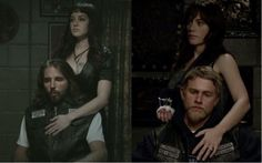 You either die a hero, or live long enough to see yourself become the villain. Sons of Anarchy Gemma and John/Jax and Tara