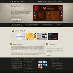 Web 2.0 Company Portfolio by *princepal #webdesign #trends