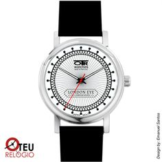 Mostrar detalhes para Relógio de pulso OTR LONDON EYE LOC 008