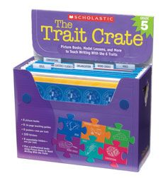 6 Trait Writing Crate.  Teaches the 6 Traits of Writing with picture books and lesson plans included!