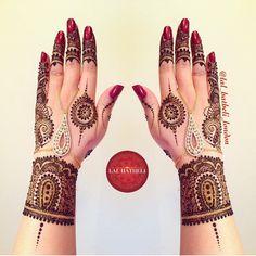 """What a lovely #hennadesign by @lal_hatheli_london #henna #mehendi #mehndi"" Photo taken by @southasianbridemagazine on Instagram, pinned via the InstaPin iOS App! http://www.instapinapp.com (06/27/2015)"
