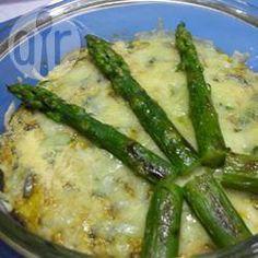 Omelette au four aux asperges et aux champignons @ qc.allrecipes.ca