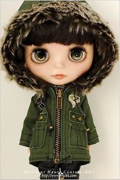 Blythe-BHC-Military-Winter-Pants-Set-NEW