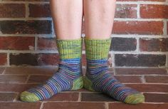 From Hipknitism.com: Stashbuster Spirals Socks are an excellent way to use up the leftovers from previous knitting projects. I've written it for three colors, but you can easily add a fourth, fifth, and sixth color for the toe, heel, and cuff. If you have many small quantities of yarn then you can start with three colors and bring in additional ones as your initial selections run out. The spiral stripe pattern can easily be adapted for a different number of stripes, too.