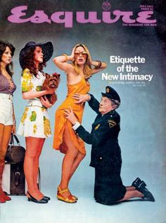 In the Sixties and early Seventies, Carl Fischer photographed some of the most famous Esquire covers in the magazine's history. Just take a look for yourself, it's an embarrassment of riches. Vintage Magazines, Vintage Ads, Fashion Magazines, Vintage Posters, Girls Magazine, Campaign Fashion, Vintage Graphic Design, Esquire, Pink Aesthetic