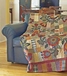 Promise of Spring. Designed by Kim Diehl. American Patchwork  Quilting February 2007