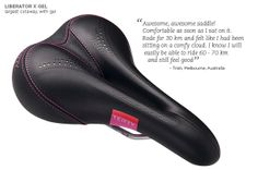 Women's Touring Bicycle Saddles: Most Comfortable Bike Seats for Women | Terry Bicycles