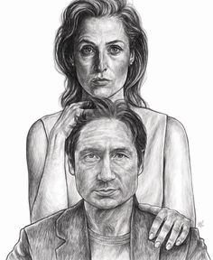 """"""" Aliens-scully """" LOVELY! """" This is beautiful. I hope Gillian and David see this. """" HOLY SHIT """""""