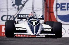 Brabham BT50 - Em 1982, Piquet carregou o número 1 em seu carro, mas terminou o campeonato somente em 11º (Foto: Divulgação)