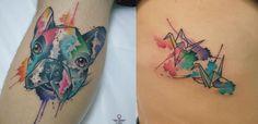 Felipe é figura carimbada no cenário de tatuadores especializados em aquarela…