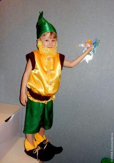 Карнавальный костюм Огурца своими руками. Идеи новогодних ... - photo#45