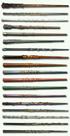 Simple wands made from chop sticks, hot glue, and some paint!