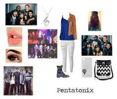"""""""Pentatonix Concert"""" by music-dancer-kpopper5678 ❤ liked on Polyvore featuring Free People, Frame, City Chic, Barbara Bui, Charlotte Tilbury, Due Soli and plus size clothing"""