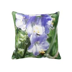 Modern Design Painting Throw Pillow  by Peter Chassé  This elegant flowering plants pillow adds a romantic atmosphere to your living space.  http://www.zazzle.com/chasse