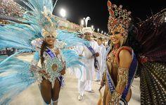 Destaques da escola de samba Renascer.