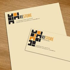 "This letterhead has has a good contrast. The black and yellow contrast really well. I like how especially in the word ""restore,"" the first half of the word in black and the second is yellow. This makes it easy to look at and it stands out.   Source: ucreative.com  http://www.ucreative.com/inspiration/83-crazy-beautiful-letterhead-logo-designs/"