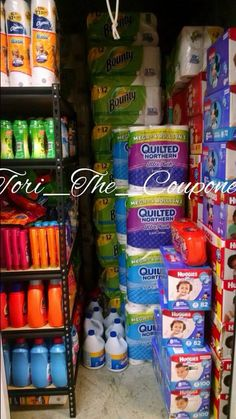 Stockpile Inspiration. #Coupon #Couponing #couponmania #Stockpile #Stockpiling Couponing 101, Extreme Couponing, Food Storage, Storage Ideas, Stock Room, Coupon Stockpile, Underground Bunker, Pantry Essentials, My First Apartment