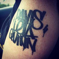 #graffititype #graffitiart #graffiti #tattoo #graffititattoo #executionink…