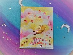 HandmadebyRenuka: 1kit 10 and more cards - Galaxy cards with -My monthly HERO -Card Kit Aug 2017 - part 6