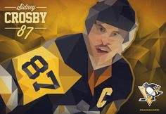Sidney Crosby 87  #crosby #penguins #pittsburghpenguins #sidneycrosby #hockey #icehockey #poster