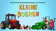Kleine Boeren - Trekkers, oogstmachines & boerderijdieren voor kinderen van Fox and Sheep GmbH