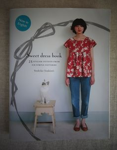 A popular Japanese Sewing Pattern Book now translated to English. Japanese Sewing Patterns, Dress Sewing Patterns, Sewing Patterns Free, Clothing Patterns, Pattern Sewing, Floral Patterns, Textile Patterns, Old Navy, Ribbed Dress